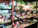 あかり・香り・小物の展示販売コーナー