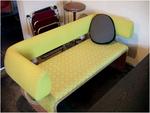 ミナぺルホネンの黄色いソファー